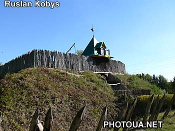 Pereyaslav-Khmelnitsky. museum of Folk Life and Architecture. Cossack fortress. 17 cent.