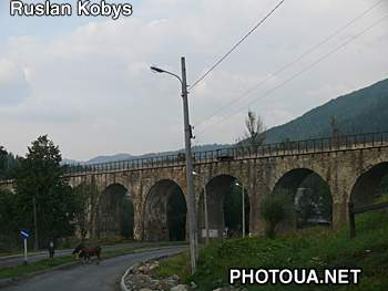 Vorokhta Train Viaduct