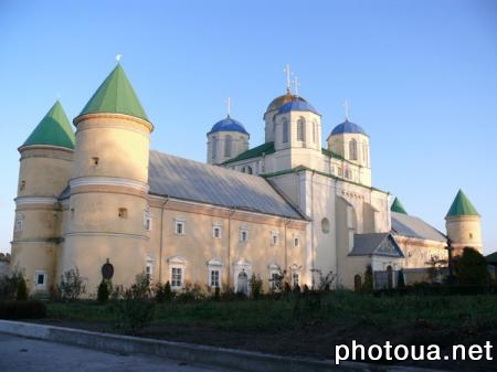 Mezhirich. Rivne oblast. Holy Trinity Monastery in Mezhirich. (founded in the 15th century).