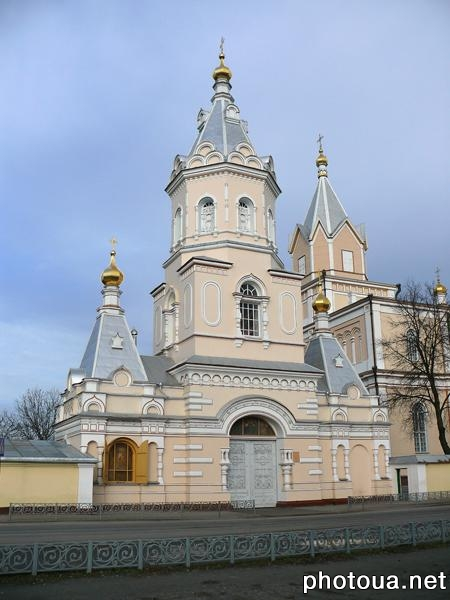 Rivne oblast. Korets. The Monastery of the Holy Trinity (16th century).