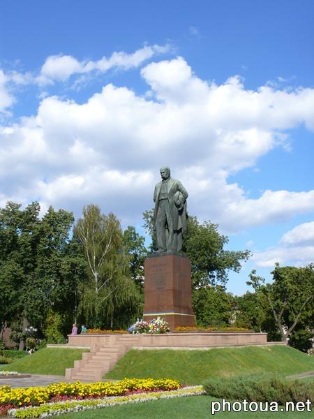 Київ пам ятник тарасові шевченку