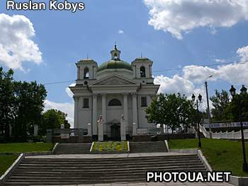 Bila Tserkva city. Church of St. Ioann Predtechi
