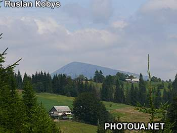 The Hoverla mountain