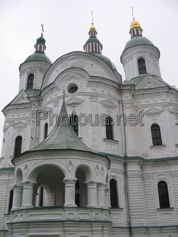 Kozelets The Cathedral of Rogdestva Presvyatoi Bogorodici. The architects: I. Grigorovich-Barskiy, A