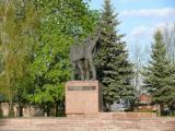 Ovruch.  Zhitomir region. Monument to Soviet soldiers
