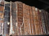 Lutsk. Lubart's Castle. Museum of book. Old book.