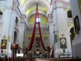 Lutsk. Inside of Peter and Paul's Cathedral.