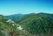 Carpathian mountain Chernomorskiy mountain ridge