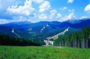 Carpathian mountain Bukovel
