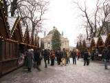 Lviv The Christmas Fairs in the center city.