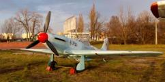Kiev Yak-3. World War II Soviet fighter aircraft.