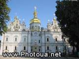 Pecherska Lavra Monastery in Kyiv. Dormition of the Mother of God Cathedral